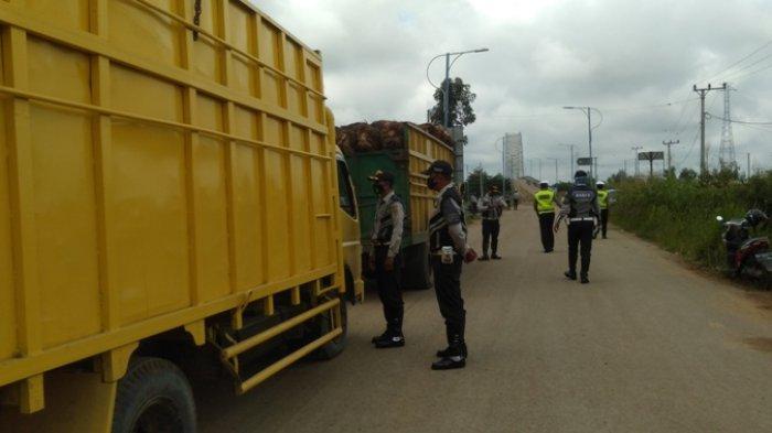 Petugas Tindak Puluhan Pelanggar, Sepekan Razia Angkutan Nakal di Tanjabtim