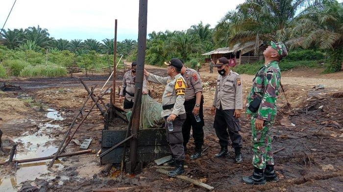 Razia Illegal Drilling di Pauh, Polres Sarolangun Tutup 42 Sumur Ilegal