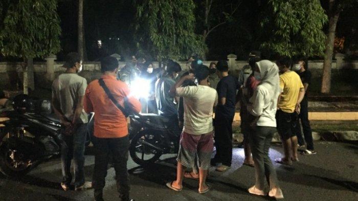 Tim Gabungan Satgas Covid-19 Gelar Operasi Yustisi, Bubarkan Pemuda yang Berkumpul di Muara Bulian