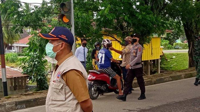 60 Orang Terjaring Razia Tak Pakai Masker di Sarolangun, Didominasi Warga Sekitar Lokasi