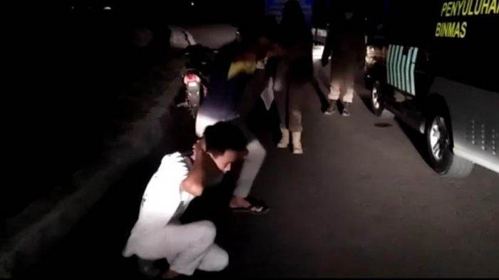 Razia di Tebo, Seratusan Orang Terjaring Karena Tidak Memakai Masker
