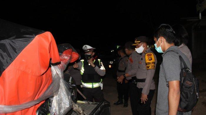 Marak Aktivitas Ilegal, Polres Muarojambi Razia di Perbatasan Jambi-Palembang, Ini Sasarannya