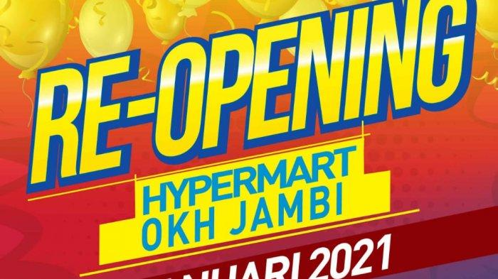 Hypermart Lippo Plaza Jambi Buka Kembali Dengan Konsep Baru, Banyak Promo Tersedia