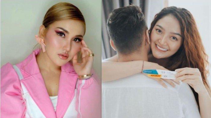 Reaksi Ayu Ting Ting Saat Siti Badriah Posting Kehamilannya Disorot, Putri Abdul Rozak Tuai Reaksi