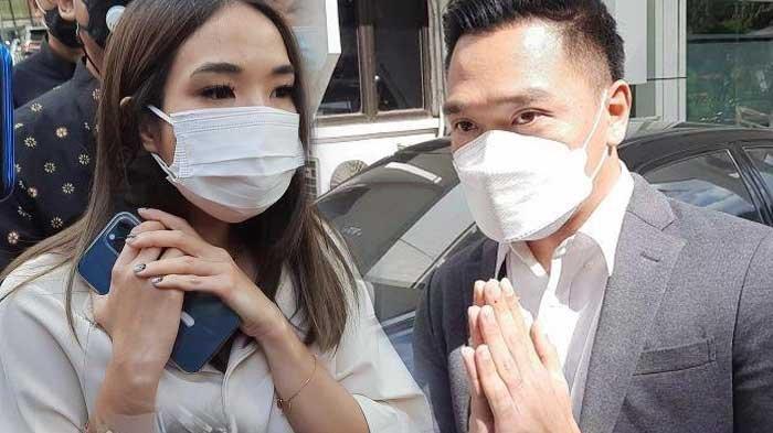 Reaksi Gisella Anastasia bertemu Michael Yukinobu di pengadilan