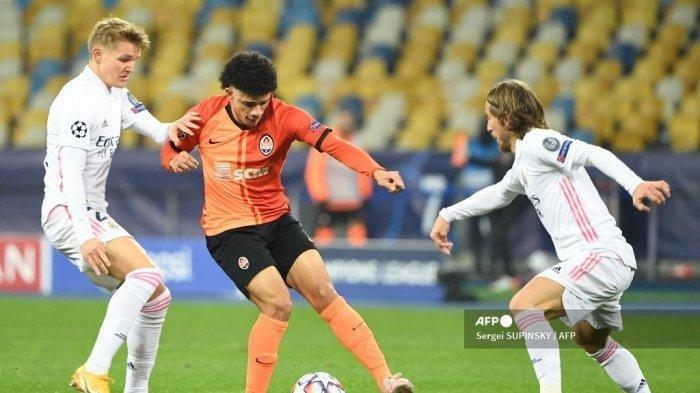 Hasil Liga Champions - Real Madrid Dipermalukan Shaktar Donetsk 0-2, Terancam Gagal Lolos 16 Besar