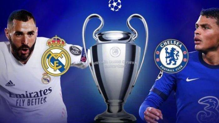 Hasil Liga Champions Malam Tadi, Chelsea Terlalu Perkasa Untuk Dikalahkan Real Madrid