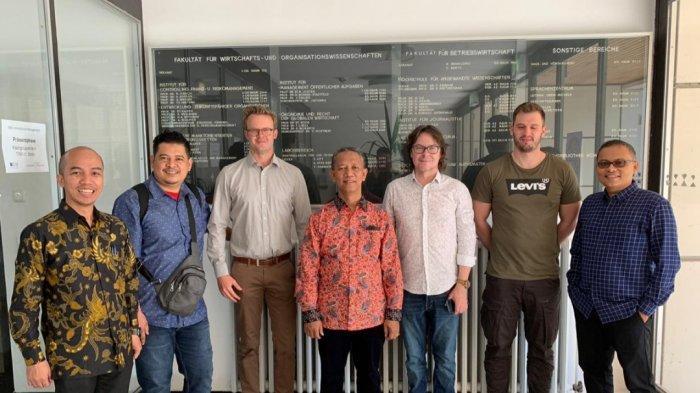 Rektor UIR Bawa 3 Dosen Ikuti Program Visiting Professor and Fellow di Jerman