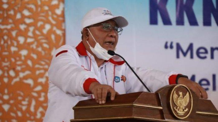 Rektor Universitas Jambi Prof H Sutrisno.