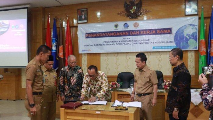 Universitas Jambi Dukung Informasi Geospasial