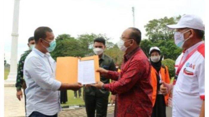Wakil Gubernur Jambi Abdullah Sani Lepas Peserta KKN Kebangsaan UNJA di Tanjung Jabung Timur