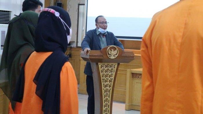 Rektor Unja Prof H Sutrisno Lantik BP2KM Periode 2021-2022