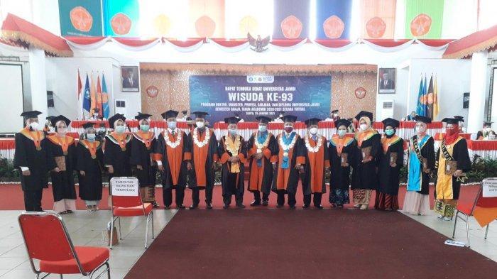 Awal 2021, Universitas Jambi Luluskan 966 Orang