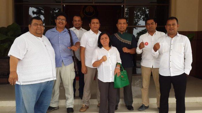 Relawan Jokowi Audiensi ke Mapolda Jambi, tentang Road Show Ganti Presiden