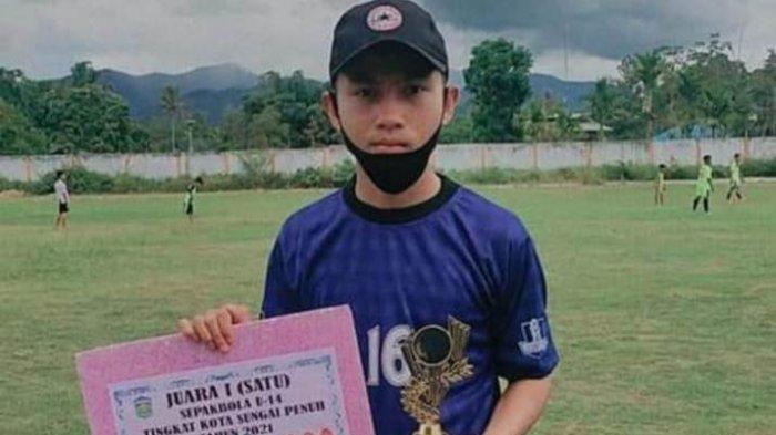 Cerita Remaja Asal Sungai Penuh, Hanif Belajar Sepak Bola Mulai dari Nol, Ikut Seleksi Timnas U-16