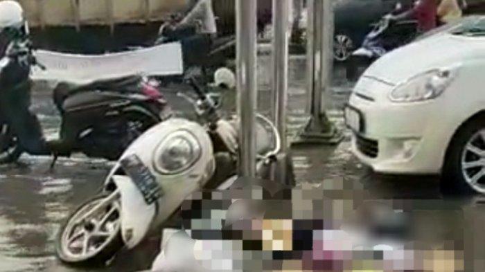 Heboh, Terjebak Banjir di Jalan Pattimura, Remaja Kota Jambi Tewas Diduga Kesetrum