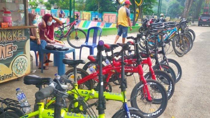 Usai PPKM Pendapatan Rental Sepeda di Kota Jambi Kembali Normal