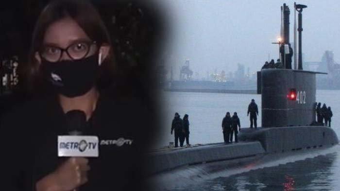 REPORTER Metro TV Tak Kuat Tahan Tangis saat Sampaikan Kabar Tenggelamnya KRI Nanggala-402
