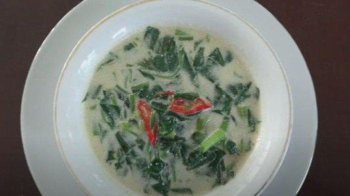 Resep Bobor Kangkung, Sajian Sayur dengan Kuah Santan