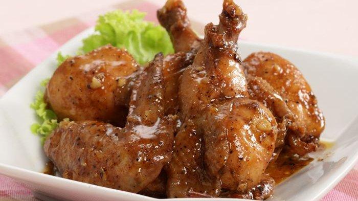 Resep Chicken Wings Bakar Madu, Bisa Panggang di Teflon