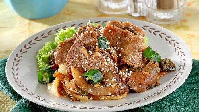 Resep Daging Teryaki, Masukkan Minyak Wijen Sebelum Disajikan