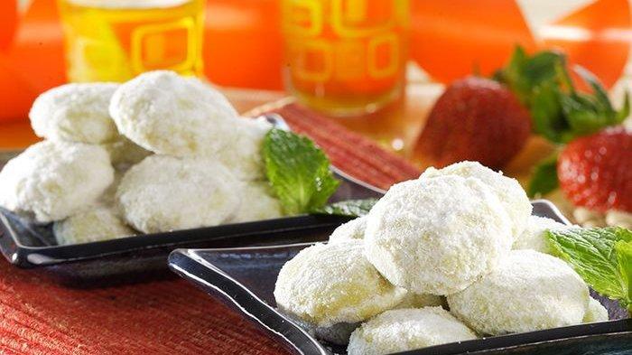 Resep Kue Lebaran 2019, Cara Membuat Kue Kering Mudah dan Praktis Menu Putri Salju Melon Wijen