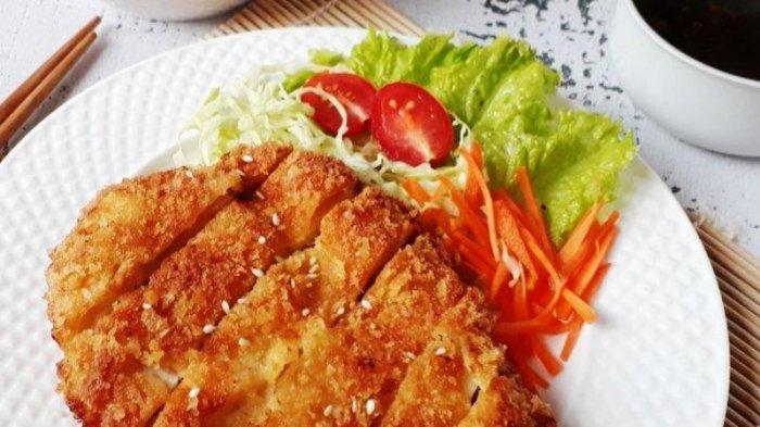 Resep Chicken Katsu Istimewa, Menu Favorit Para Anak