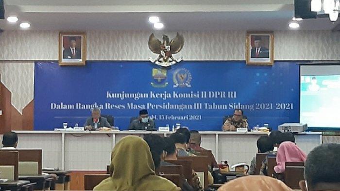Kepala Kanwil BPN Provinsi Jambi Disemprot Anggota Komisi II DPR RI, Soal Sertifikat Tanah