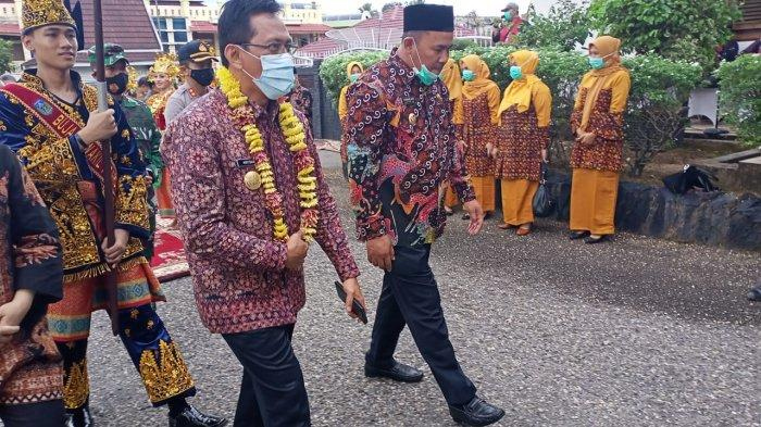 Pjs Gubernur Minta ke Plt Bupati Sarolangun Bentuk Satgas Covid-19 Hingga Tingkat Dusun