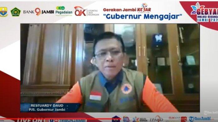 Perbanyak Program Padat Karya Dinas PU, Pjs Gubernur Beber Langkah-langkah PEN Pemprov Jambi