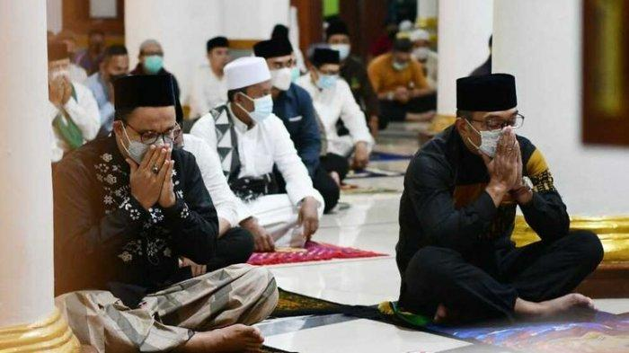Anies Baswedan Temui Ridwan Kamil Subuh-subuh, Teh Botol Sosro dan Foto SBY Jadi Sorotan