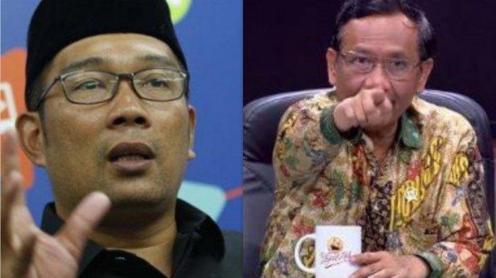 Ridwan Kamil 'Salahkan' Mahfud MD Soal Kekisruhan Kerumunan Massa: Beliau Harus Bertanggung Jawab