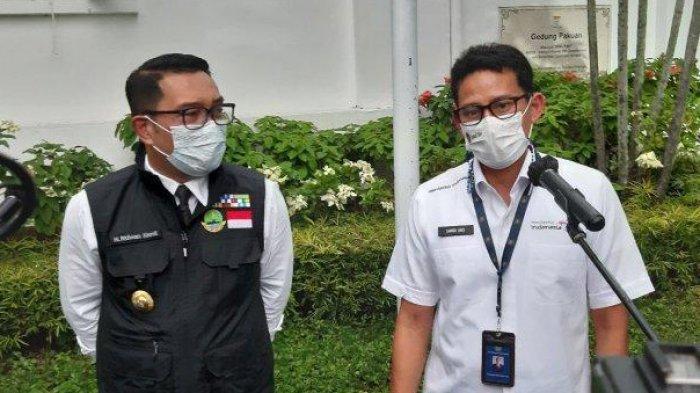 Ridwan Kamil dan Sandiaga Uno Bakal Berpasangan di Pilpres 2024?, Emil: Tidak Ada yang Tidak Mungkin