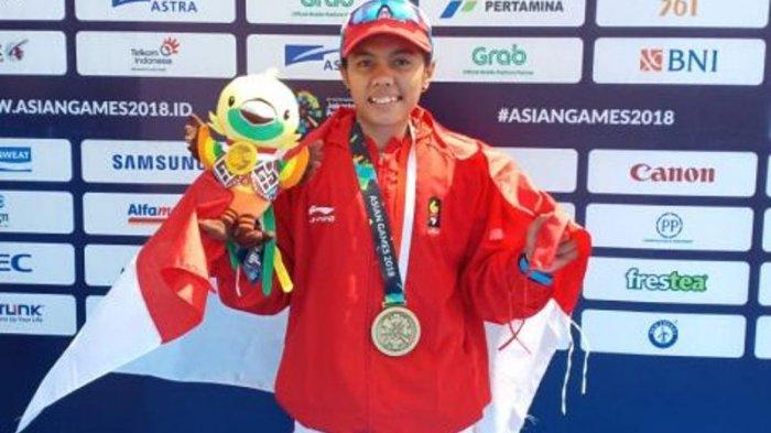 Sempat Grogi Sebelum Bertanding Riska Andriyani Atlet Kano Jambi Raih Medali di Asian Games 2018