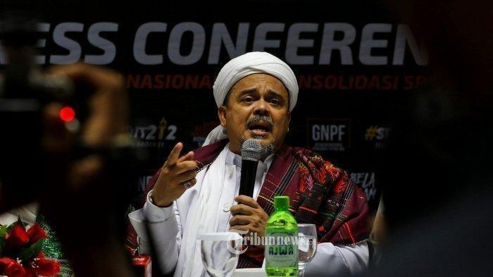 Setelah Jadi Tersangka, Habib Rizieq Shihab Juga Dicekal ke Luar Negeri, Begini Kata polisi