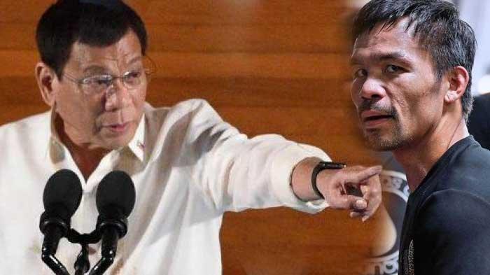 Duterte Tantang Pacquiao Buktikan Ada Korupsi di Pemerintahannya Seperti yang Diungkap Sang Petinju