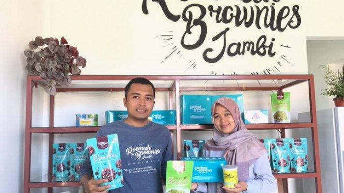 Roemah Brownies Jambi Tempat Oleh-Oleh dari UMKM Jambi Kini Sampai ke New Work