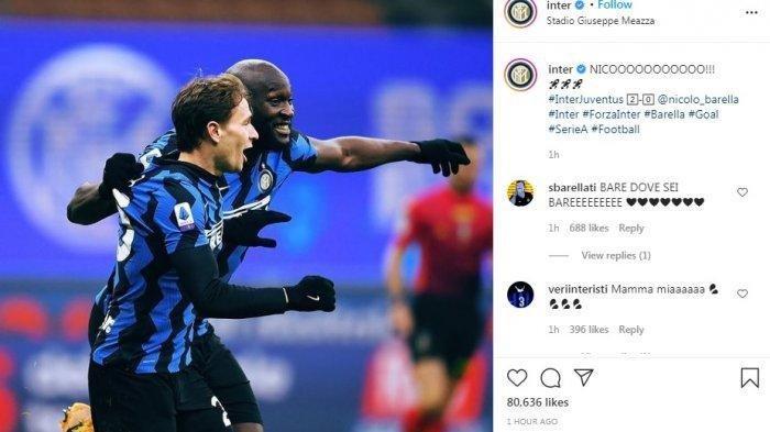 Juventus Kalah 2-0 dari Inter Milan, Namun Belum Mampu Gusur AC Milan dari Puncak Klasemen Sementara