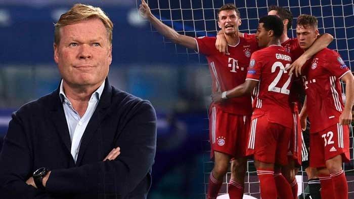 Ronald Koeman akan membalas dendam Barcelona kepada Bayern Munchen di Liga Champions Musim ini