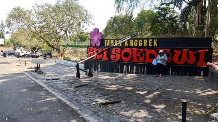 RTH Taman Anggrek Sri Soedewi, Tak Kunjung Diresmikan, Begini Kondisinya Terkini