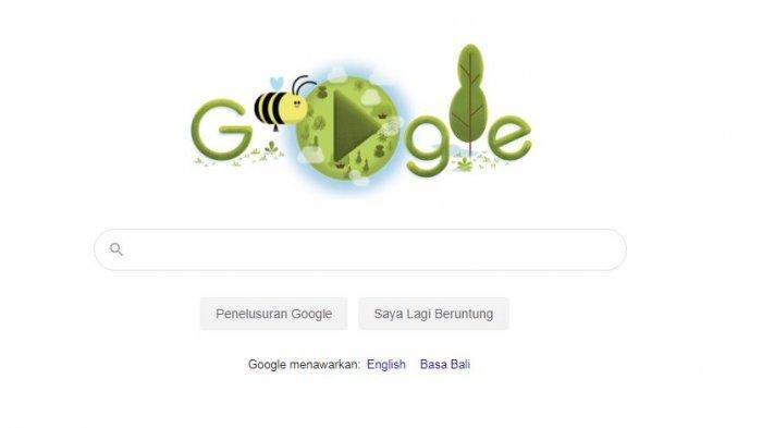 Peringatan Hari Bumi Ditengah Virus Corona, Ada Google Doodle Eart Day 2020, Mengapa Gambar Lebah?