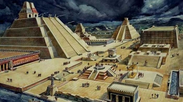 Lihat Ruangan Misterius Tersegel Ini, Ada di Reruntuhan Bangunan Aztec Kuno