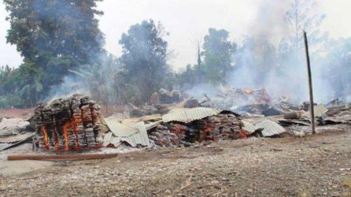 KKB Papua Pimpinan Tendius Gwijangge Mengamuk, 3 Rumah di Yahukimo Dibakar dan Lepas Tembakan