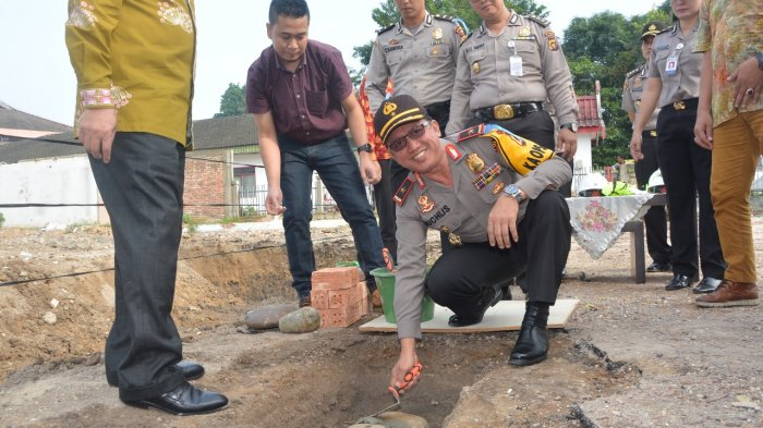 RS Bhayangkara Bakal Punya Gedung Baru, Kapolda Letakkan Batu Pertama