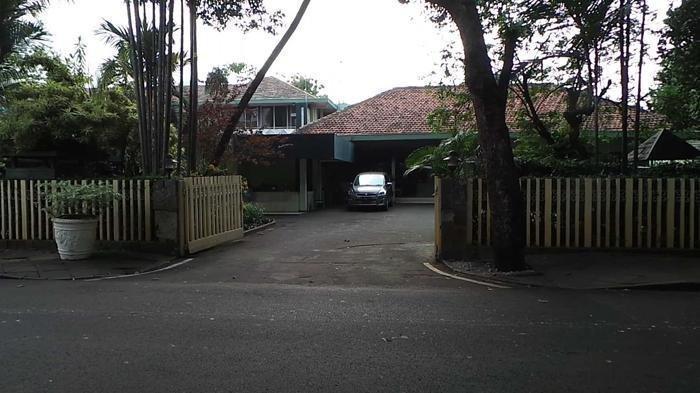 Foto rumah Soeharto di Jalan Cendana, Jakarta.