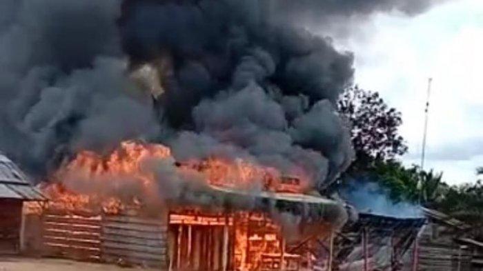 BREAKING NEWS Dua Rumah di Tebo Terbakar, Emas dan Surat Berharga Tak Bisa Diselamatkan