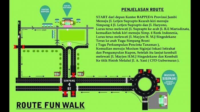 Family Fun Walk dan Fun Bike - Jangan Lupa Abadikan Momen dan Bagikan ke Akun Berikut. . .