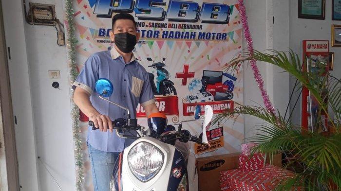 Sabang Raya Motor Group GelarPengundian Hadiah PSBB Beli Motor Hadiah Motor