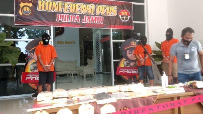BREAKING NEWS Ditresnarkoba Polda Jambi Amankan 8 Kg Sabu-sabu Yang Dibawa Dari Pekanbaru