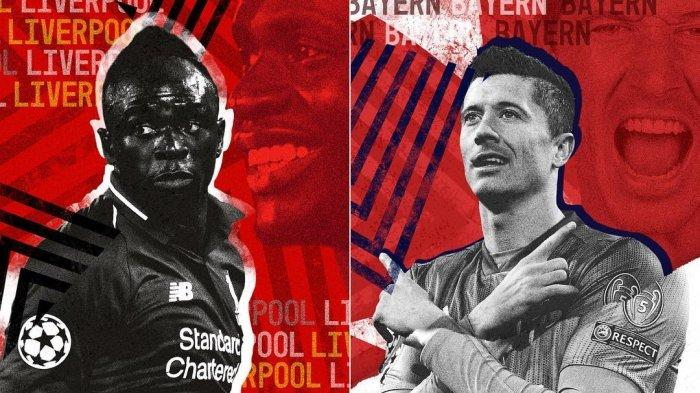 Prediksi Susunan Pemain Liverpool vs Bayern Munchen di Babak 16 Besar Liga Champions